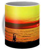 Erie Beach Sunset Coffee Mug