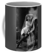 Erotic Photo Of A Model Wearing Lingerie Stockings And Garters Coffee Mug