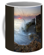 Eruption At Dawn Coffee Mug