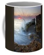 Eruption At Dawn Coffee Mug