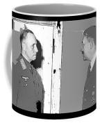 Erwin Rommel Adolf Hitler Circa 1941 Color Added 2016 Coffee Mug