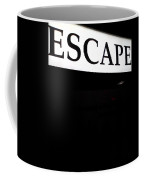 Escape Coffee Mug