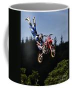 Escaping Motorbike Coffee Mug