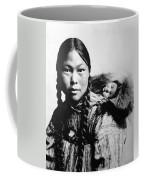 Eskimo Woman And Child Coffee Mug