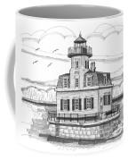 Esopus Meadows Lighthouse Coffee Mug by Richard Wambach
