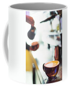 Espresso Expresso Italian Coffee Cup With Machine  Coffee Mug