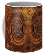Essence Of Rust - Tiled Coffee Mug