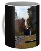 Essex Steam Train Coming Into Fall Colors Coffee Mug