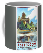 Esztergom, Beautiful City On Danube River, Hungary,  Coffee Mug