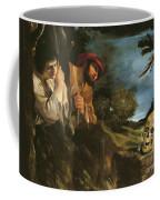 Et In Arcadia Ego Coffee Mug by Giovanni Francesco Barbieri