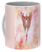 Ethereal Flight Contemporary Minimalism Coffee Mug