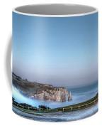 Etretat Church Coffee Mug