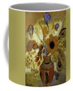 Etrusian Vase With Flowers Coffee Mug