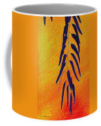 Eucalyptus Leaves Abstract Coffee Mug