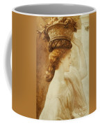 Eucharis  A Girl With A Basket Of Fruit Coffee Mug