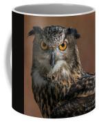 Eurasian Eagle Owl Iv Coffee Mug