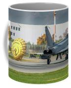 Eurofighter Typhoon 2000 With Parachute Coffee Mug