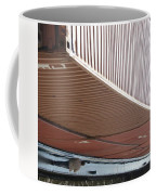 European Container On Barge Coffee Mug