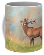 European Red Deer Coffee Mug