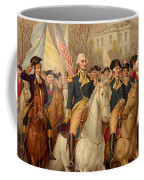 Evacuation Day And Washington's Triumphal Entry In New York City Coffee Mug