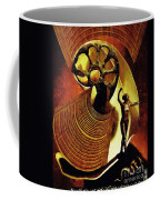 Eve Balanced On A Tightrope Coffee Mug by Sarah Loft