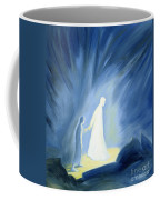 Even In The Darkness Of Out Sufferings Jesus Is Close To Us Coffee Mug by Elizabeth Wang