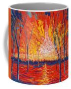 Even The Trees Get The Blues Coffee Mug