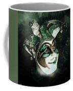 Even With Her Mask, Her Eyes Give Her Away Coffee Mug