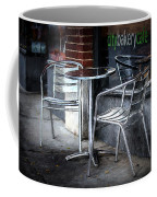Evening At A Sidewalk Cafe Coffee Mug