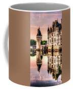 Evening At Chenonceau Castle Coffee Mug