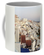 Evening At Santorini Coffee Mug