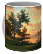 Evening Atmosphere By The Lakeside Coffee Mug