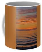 Evening Beach Walk Coffee Mug