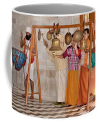 Evening Bells At The Temple Coffee Mug