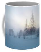 Evening Birches Coffee Mug