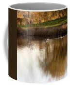 Evening By The Pond Coffee Mug