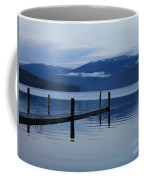 Tranquil Blue Priest Lake Coffee Mug