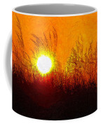 Evening Dunes Impasto Coffee Mug
