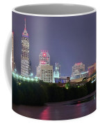 Evening Falls On Indianapolis Coffee Mug