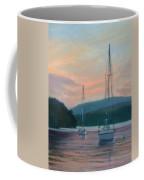 Evening Glow Hudson River Coffee Mug