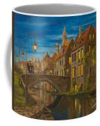 Evening In Brugge Coffee Mug