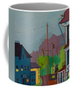 Evening In Town Chelmsford Ma Coffee Mug
