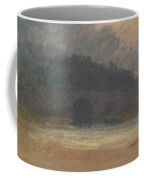 Evening Landscape With Castle And Bridge In Yorkshire Coffee Mug