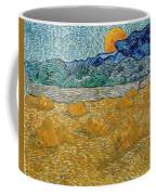Evening Landscape With Rising Moon Coffee Mug