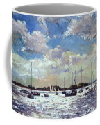 Evening Light - Gulf Of Morbihan Coffee Mug