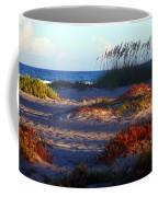 Evening Light At The Beach Coffee Mug