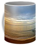 Evening Light On Shanklin Beach Coffee Mug