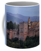 Evening Lights At The Alhambra Coffee Mug