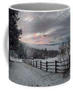 Evening Mountain Glow Coffee Mug
