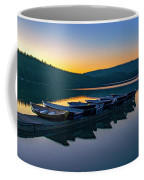 Evening On Lake Mcdonald Coffee Mug